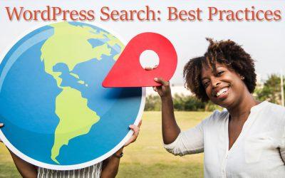 WordPress Search: Best Practices